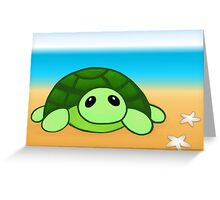 Kenny - The Baby Tortoise Greeting Card