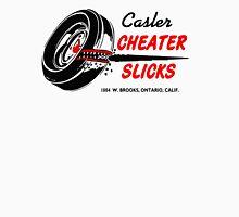 Cheater Slicks Womens Fitted T-Shirt