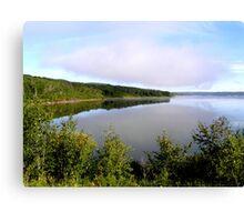 lake of the prairies Canvas Print