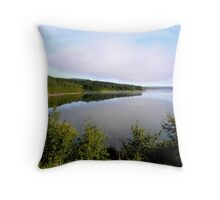 lake of the prairies Throw Pillow