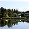 Prairie river/lake view