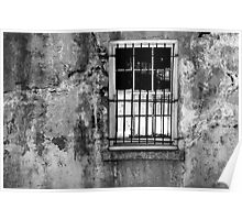 Window, Beaufort, South Carolina Poster