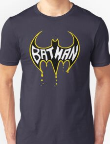 Batman Logo Drip  T-Shirt