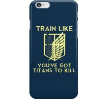 Train like the Scouting Legion iPhone Case/Skin
