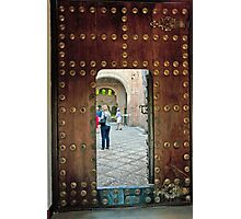 Alhambra Judas Gate Photographic Print