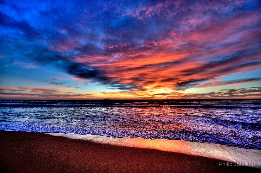Daybreak - Newport Beach , NSW - The HDR Experience by Philip Johnson