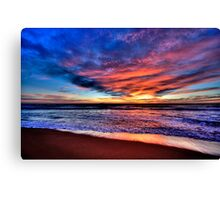 Daybreak - Newport Beach , NSW - The HDR Experience Canvas Print