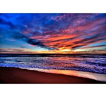 Daybreak - Newport Beach , NSW - The HDR Experience Photographic Print
