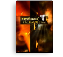 I Will Stand The Test Of Time Canvas Print