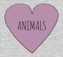 ANIMALS <3 One Piece - Long Sleeve