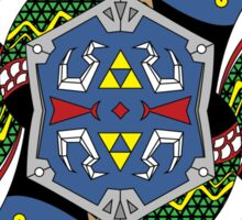 Link Card - Hylian Court Legend of Zelda Sticker