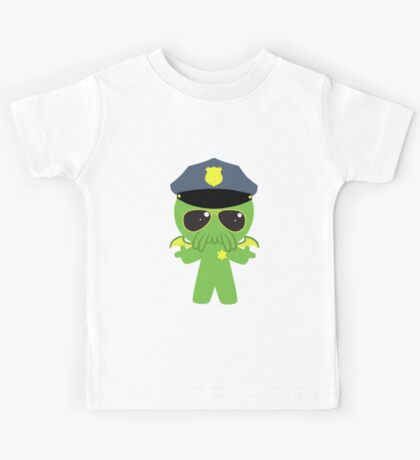 Cthulhu Cop Kids Tee