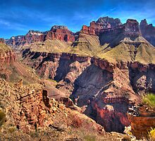 Above Bright Angel Canyon  by Randy Jay Braun
