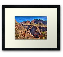 Above Bright Angel Canyon  Framed Print