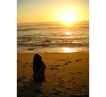 Nude Sunset Photographic Print
