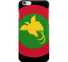 Roundel of Papua New Guinea Air Operations Element  iPhone Case/Skin