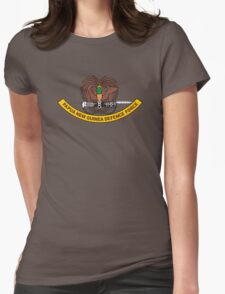 Papua New Guinea Defence Force Emblem Womens Fitted T-Shirt