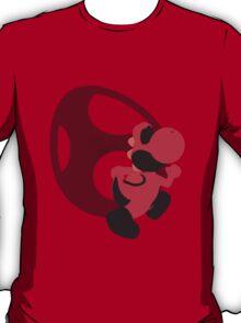 Yoshi (Red, Smash 4) - Sunset Shores T-Shirt