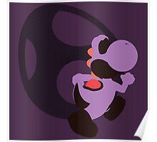 Yoshi (Purple, Smash 4) - Sunset Shores Poster