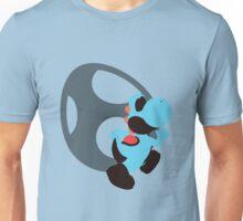Yoshi (Lt Blue, Smash 4) - Sunset Shores Unisex T-Shirt