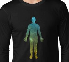 ELECTRIC MAN T SHIRT LARGE IMAGE Long Sleeve T-Shirt