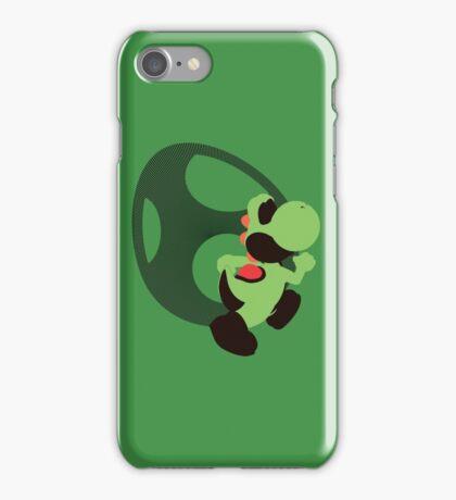 Yoshi (Green, Smash 4) - Sunset Shores iPhone Case/Skin