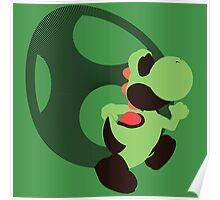 Yoshi (Green, Smash 4) - Sunset Shores Poster