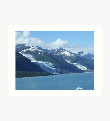 The Glaciers Art Print