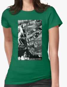 Poster Archaeology 19 Womens Fitted T-Shirt