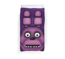Five Nights at Freddy's 1 - Pixel art - Bonnie Duvet Cover