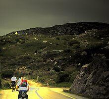 People on the bike by Barbara Ignasiak