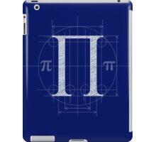 Blueprint Flavored Pi iPad Case/Skin