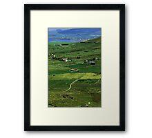 Irish county Framed Print