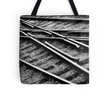 """ Tracks "" Tote Bag"