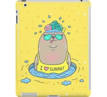 Summer seal iPad Case/Skin