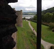 Conwy Castle View by kalaryder