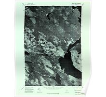 Maine USGS Historical Map Middle Dam 806904 1977 24000 Poster