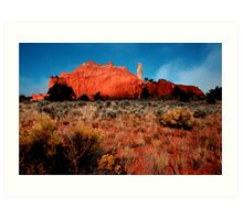 Kodachrome Basin Art Print