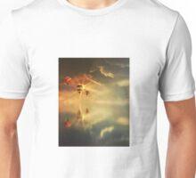 Sunset's golden glow Unisex T-Shirt