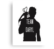 Team Daryl  Canvas Print