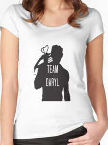 Team Daryl  Women's Fitted Scoop T-Shirt