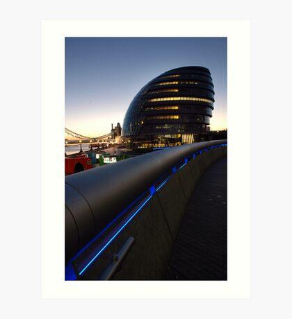 Head quarters for the Mayor of London Art Print