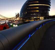 Head quarters for the Mayor of London by DAra KHaled
