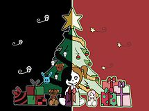 Cute & Creepy Christmas by Amy-lee Foley