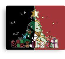 Cute & Creepy Christmas Canvas Print