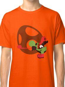 Yoshi & Baby Mario - Sunset Shores Classic T-Shirt