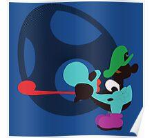 Yoshi & Baby Luigi Poster