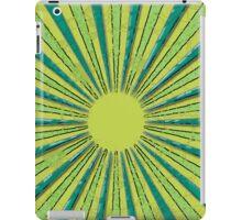 Green Circles iPad Case/Skin