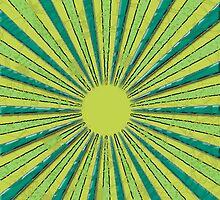 Green Circles by Kikixkuran