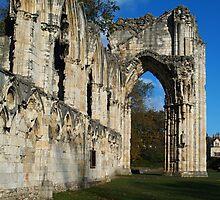 St. Mary's Abbey 2 by WatscapePhoto